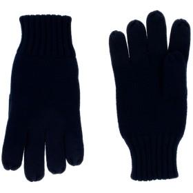 《送料無料》NORTH SAILS メンズ 手袋 ダークブルー M/L コットン 60% / ナイロン 30% / ウール 10%
