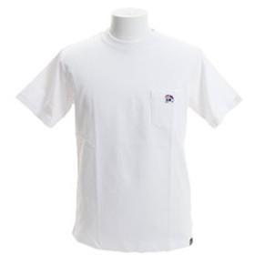 【Super Sports XEBIO & mall店:トップス】【オンライン特価】DUCK DUDE ワンポイント刺繍 ポケット 半袖Tシャツ 9570012-WHT