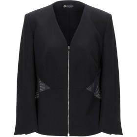 《期間限定 セール開催中》CAMILLA Milano レディース テーラードジャケット ブラック 46 ポリエステル 88% / ポリウレタン 12%