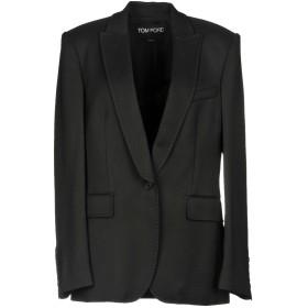 《期間限定セール開催中!》TOM FORD レディース テーラードジャケット ブラック 44 レーヨン 100%
