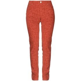 《セール開催中》PT01 レディース パンツ 赤茶色 25 コットン 98% / ポリウレタン 2%
