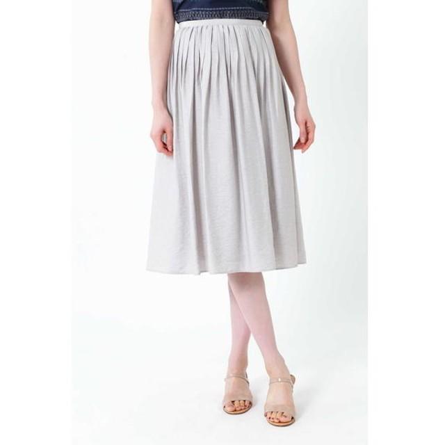 [マルイ]【セール】◆麻混ピンタックセットアップスカート/ナチュラルビューティー(NATURAL BEAUTY)