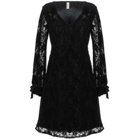 《期間限定セール開催中!》SOUVENIR レディース ミニワンピース&ドレス ブラック S ポリエステル 100%