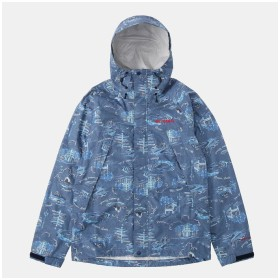 【30%OFF】 コロンビア ワバシュパターンドジャケット メンズ ブルー S 【Columbia】 【セール開催中】