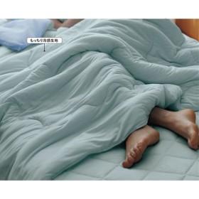 肌布団(ひんやりもっちり) - セシール ■カラー:ブルー ■サイズ:シングル(140×190cm)