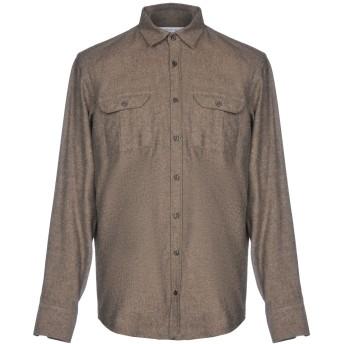 《セール開催中》HAMAKI-HO メンズ シャツ ベージュ S コットン 70% / アクリル 20% / 指定外繊維 10%