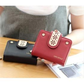 7色から選べるフリンジファスナー付レディース財布 !あのモデルも愛用! インスタグラムでも話題 財布 レディース 女の子 韓国ファッション 財布 レディース 二つ折り 小銭入れ 高級 レザー ラウン