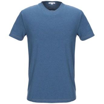 《セール開催中》ACNE STUDIOS メンズ アンダーTシャツ ブルー S コットン 92% / ポリウレタン 8%