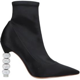 《期間限定 セール開催中》SOPHIA WEBSTER レディース ショートブーツ ブラック 36 紡績繊維