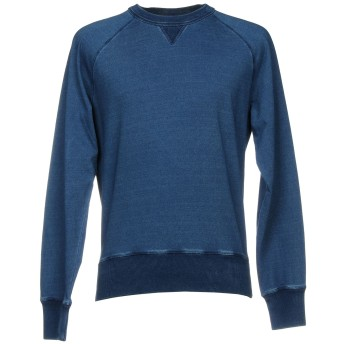 《9/20まで! 限定セール開催中》TOM FORD メンズ スウェットシャツ ブルー 46 コットン 100%