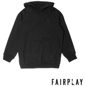 【FAIRPLAY BRAND/フェアプレイブランド】DILLINGER パーカー / BLACK
