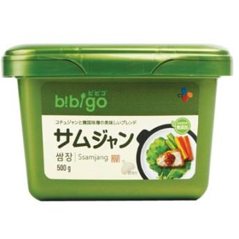【ヘチャンドルから商品名・デザインがリニューアル】 『CJ』ビビゴ サムジャン|味付け味噌(500g) サンチュ味噌 焼肉 韓国調味料 韓国食材 韓国食品