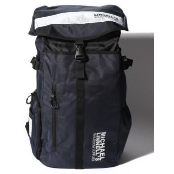 マイケルリンネル MICHAEL LINNELL(マイケルリンネル)Big Backpack ML 008 ユニセックス Navy/White F 【MICHAEL LINNELL】