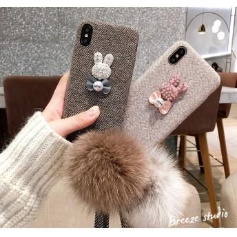 iPhone 6s/6s Plus iPhone 6/6 Plus背面ケースカバー/プレゼントギフトケース保護カバー/ケース/韓国ストラップ付きおしゃれ人気可愛いスマホケース【G678】