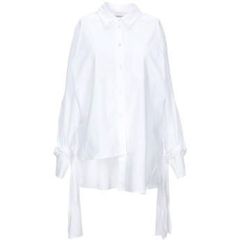 《セール開催中》,MERCI レディース シャツ ホワイト M コットン 100%