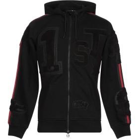 《期間限定セール開催中!》HYDROGEN メンズ スウェットシャツ ブラック M コットン 100%