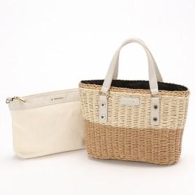 [マルイ]【セール】バッグインバッグ付きペーパーかごバッグSサイズ/ラバガジェリー(LA BAGAGERIE)