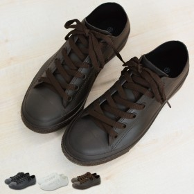 レインブーツ - petitcaprice レインシューズ レディース スニーカー 長靴 靴 雨靴 ローカット レインスニーカー (ak-sy-30040-50-230) 完全防水 雨 雨晴れ兼用 梅雨 ローカットスニーカー シンプル おしゃれ 雨でも晴れでも使えるレインシューズ