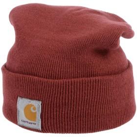 《期間限定 セール開催中》CARHARTT メンズ 帽子 赤茶色 one size アクリル 100%