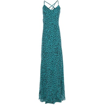 《セール開催中》MICHELLE MASON レディース ロングワンピース&ドレス ディープジェード 4 シルク 100%