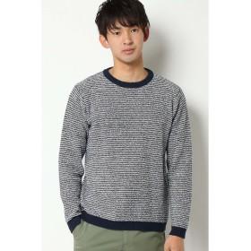 イッカ ブークレボーダーP/O メンズ ネイビー L 【ikka】