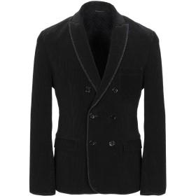 《期間限定セール開催中!》DANIELE ALESSANDRINI メンズ テーラードジャケット ブラック 48 コットン 97% / ポリウレタン 3%