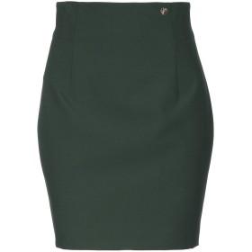 《セール開催中》VERSACE COLLECTION レディース ひざ丈スカート ダークパープル 40 92% ポリエステル 8% ポリウレタン