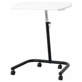 ナカバヤシ キャスター テーブル サイドテーブル ミーティングデスク ホワイト FDC-202W