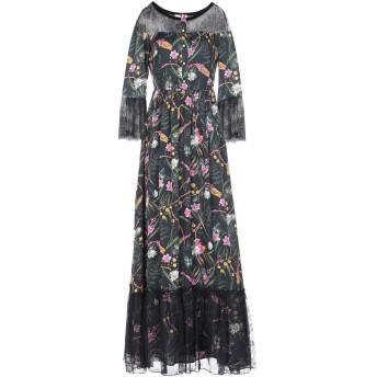 《セール開催中》BLUGIRL BLUMARINE レディース ロングワンピース&ドレス ブラック 42 ポリエステル 100% / ナイロン