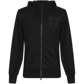 《期間限定セール開催中!》HYDROGEN メンズ スウェットシャツ ブラック S コットン 100%