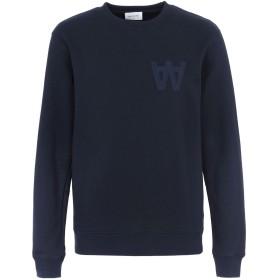 《セール開催中》WOOD WOOD メンズ スウェットシャツ ダークブルー M コットン 60% / ポリエステル 40%
