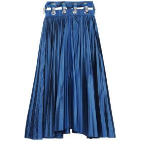 《セール開催中》2WINSDH レディース 7分丈スカート ブルー S PES - ポリエーテルサルフォン 100%