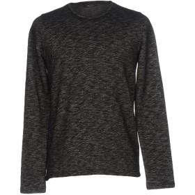 《セール開催中》ROBERTO COLLINA メンズ スウェットシャツ スチールグレー 54 コットン 60% / ポリエステル 40%