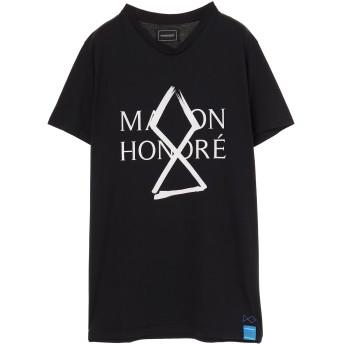 MAISON HONORE メゾンオノレ MAISON HONORE メゾンオノレ Tシャツ Tシャツ・カットソー,ブラック