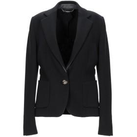 《期間限定セール開催中!》LES COPAINS レディース テーラードジャケット ブラック 44 ウール 100% / バージンウール / ポリウレタン / ナイロン
