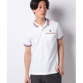 【53%OFF】 ジョルダーノ [WEB限定][GIORDANO]ライオン刺繍ラインポケットポロシャツ メンズ ホワイト S 【GIORDANO】 【セール開催中】