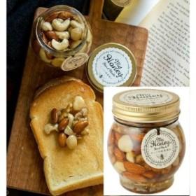 【おいしい健康】 ナッツの蜂蜜漬け 200g 1個/2個