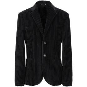 《期間限定セール開催中!》LIBERTY ROSE メンズ テーラードジャケット ブラック 54 ウール 100%