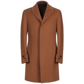 《期間限定セール開催中!》PINO LERARIO 02-05 メンズ コート ブラウン 48 バージンウール 90% / カシミヤ 10%