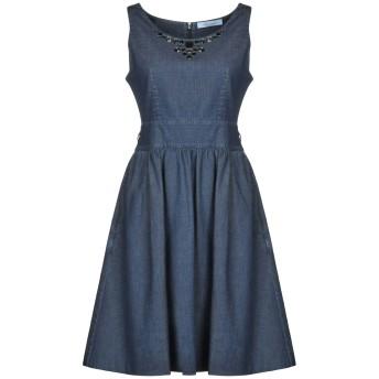 《9/20まで! 限定セール開催中》BLUMARINE レディース ミニワンピース&ドレス ブルー 42 コットン 98% / ポリウレタン 2%
