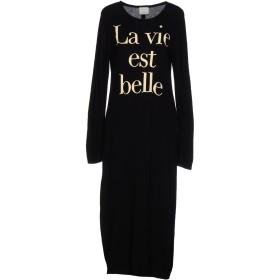 《期間限定 セール開催中》GUARDAROBA by ANIYE BY レディース 7分丈ワンピース・ドレス ブラック M レーヨン 40% / ウール 25% / ナイロン 25% / カシミヤ 5% / 毛(アンゴラ) 5%