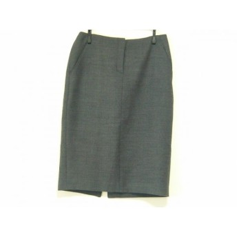 【中古】 セオリーリュクス theory luxe スカート サイズ40 M レディース 美品 ダークグレー