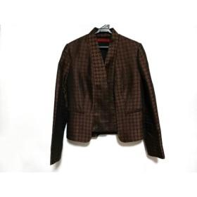【中古】 ヴィヴィアンタム VIVIENNE TAM ジャケット サイズ0 XS レディース ブラウン 黒 パープル