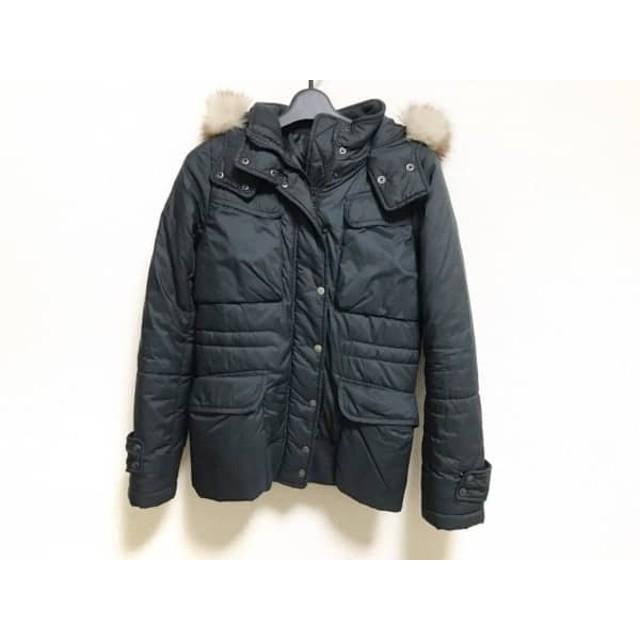 【中古】 ジルスチュアート JILL STUART ダウンジャケット サイズS レディース 黒 冬物