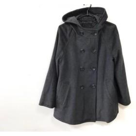 【中古】 アンタイトル UNTITLED コート サイズ3 L レディース ダークグレー 冬物