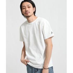 [マルイ] ZIP FIVE × KANGOL ヘビーウェイト袖ワッペンクルーネック半袖Tシャツ/ジップファイブ(ZIP FIVE)