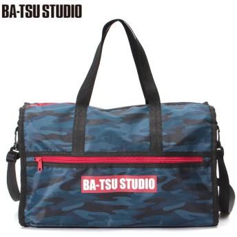 BA-TSU STUDIO バツスタジオ 迷彩ボストンプールBAG コン系迷彩 男児服飾 ボーイズビーチバック 海水小物 575050 バツスタジオ