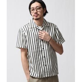 [マルイ] T/Cブロード半袖オープンカラーシャツ/ジップファイブ(ZIP FIVE)
