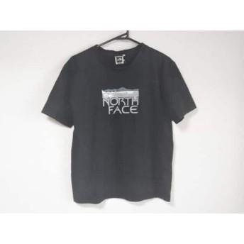 【中古】 ノースフェイス THE NORTH FACE 半袖Tシャツ サイズS メンズ 黒 グレー