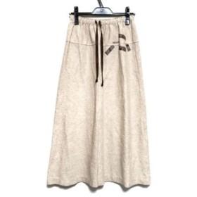 【中古】 インゲボルグ INGEBORG ロングスカート サイズ10B レディース ベージュ スウェット